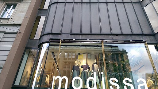 Modissa clothing store, Zurich
