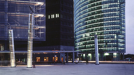 Light Pipes, Berlin Potsdamer Platz